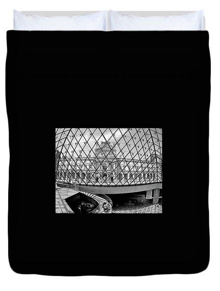 Through The Louvre Duvet Cover by Matt MacMillan