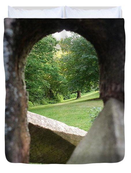 Through The Post Duvet Cover