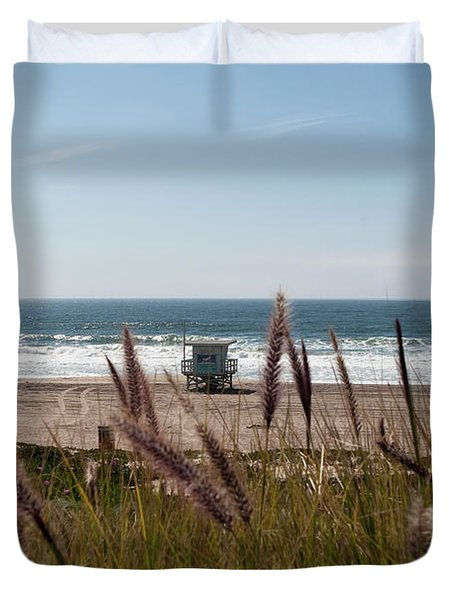 Through The Reeds Duvet Cover