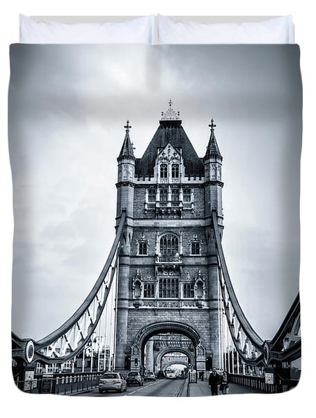 Through The Tower Duvet Cover
