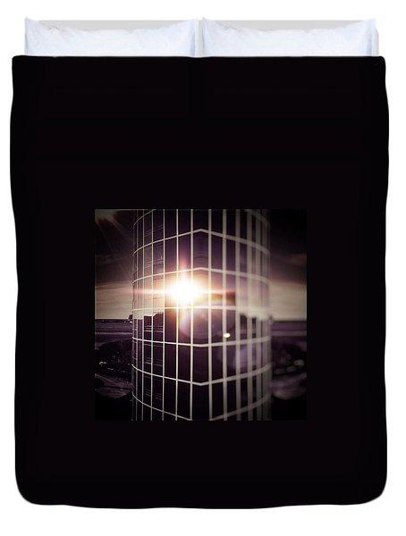 Through The Windows Duvet Cover by Jorge Ferreira
