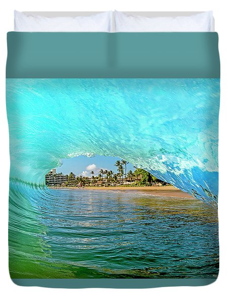 Thru The Looking Glass Duvet Cover