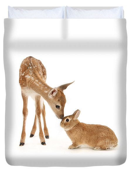 Thumper And Bambi Duvet Cover