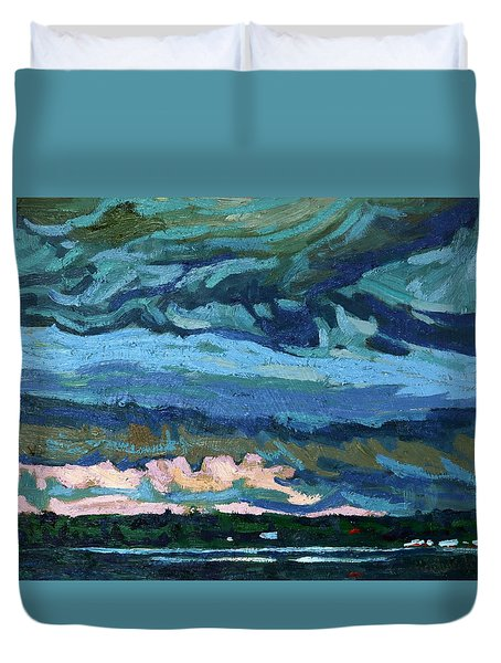 Thunder Cloud Duvet Cover