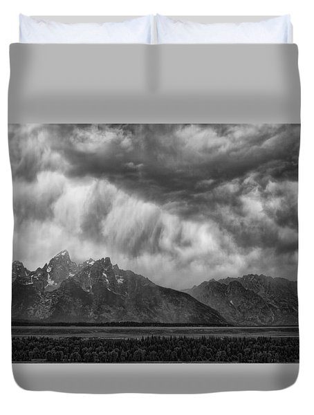 Thunder Clouds Duvet Cover by Hugh Smith