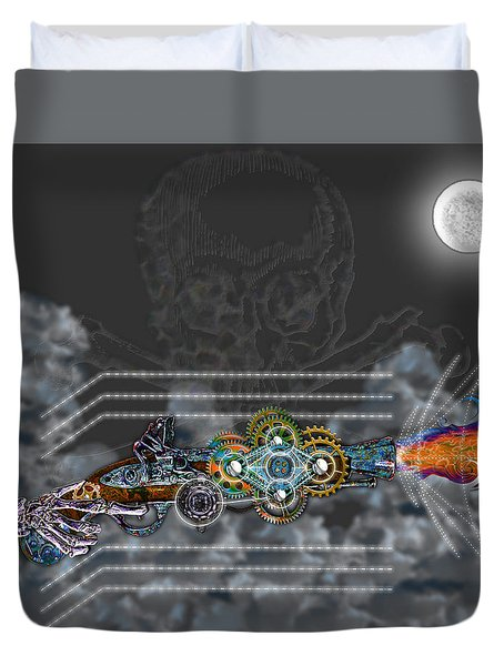 Thunder Gun Of The Dead Duvet Cover