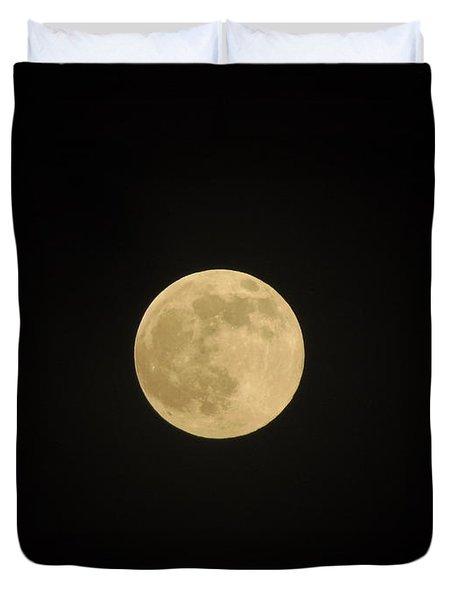 Thunder Moon Duvet Cover