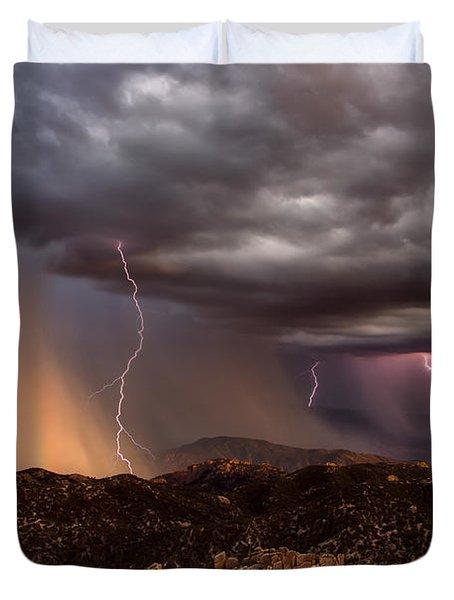 Thunder Mountain Duvet Cover