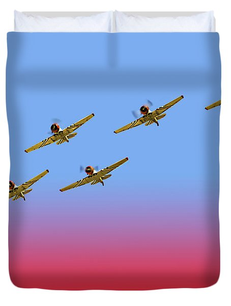 Thunder X Six Duvet Cover