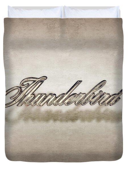 Thunderbird Badge Duvet Cover