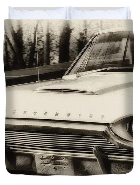 Thunderbird Dreams Duvet Cover by Bill Cannon
