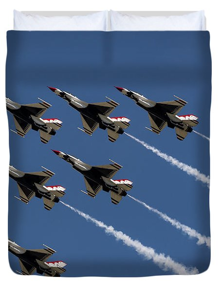 Thunderbird Formation Duvet Cover