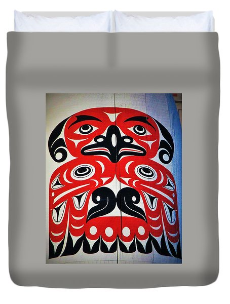 Thunderbird  Duvet Cover by Martin Cline