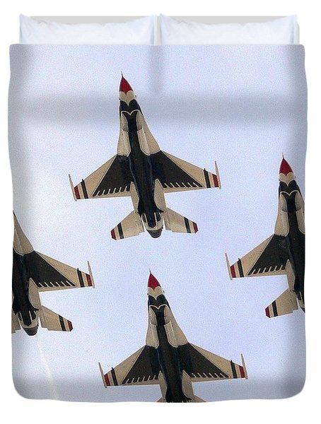 Thunderbirds Away Duvet Cover