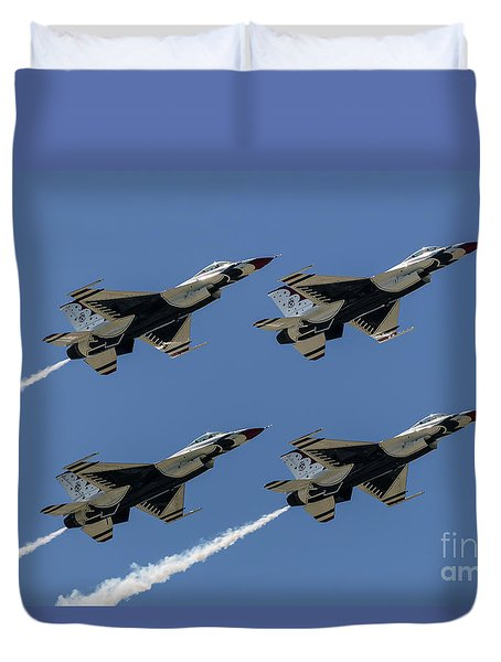 Thunderbirds Dsc5807 Duvet Cover