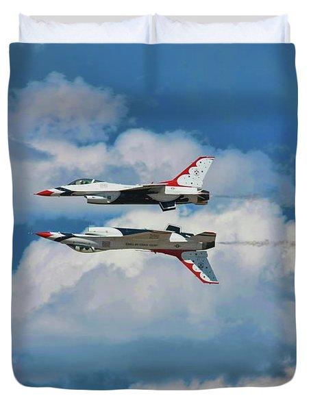 Thunderbirds Inverted Duvet Cover