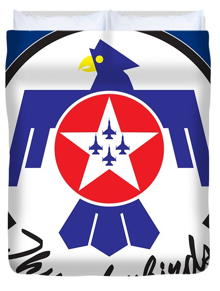 Thunderbirds Logo Duvet Cover