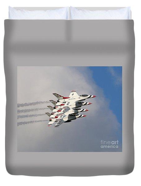 Thunderbirds Stacked Duvet Cover