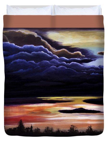Thunderhead Duvet Cover by Christie Nicklay