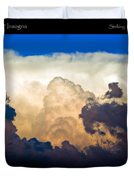 Thunderhead Cloud Color Poster Print Duvet Cover by James BO  Insogna