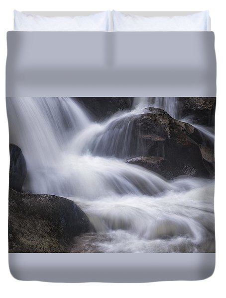 Thundering River Duvet Cover