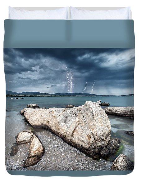 Thunderstorm  Duvet Cover