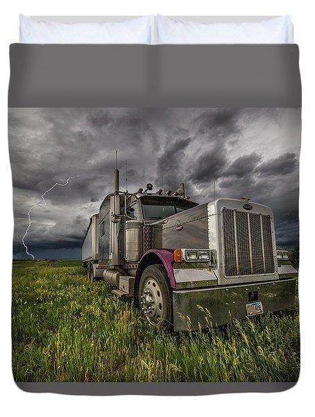 Thunderstruck Duvet Cover