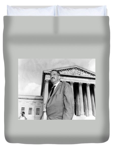 Thurgood Marshall Duvet Cover