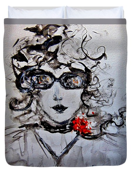 Thursday Morning.. Duvet Cover by Cristina Mihailescu