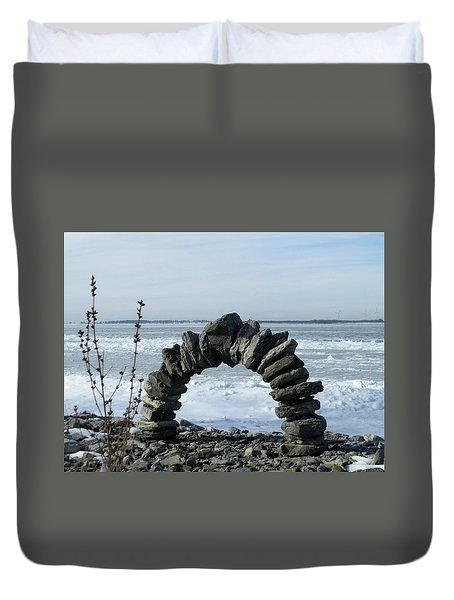 Tibbetts Point Arch Duvet Cover