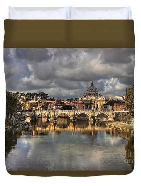 Tiber River Duvet Cover