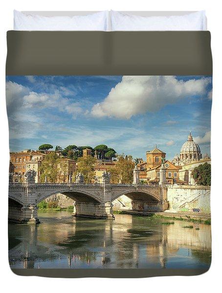 Tiber View Duvet Cover