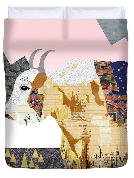 Tibet Yak Collage Duvet Cover