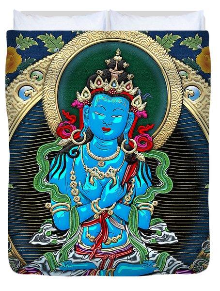 Tibetan Thangka -  Vajradhara Duvet Cover