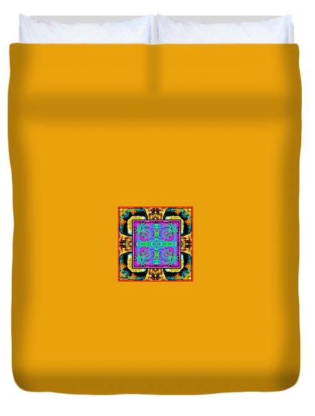 Tic Tac Do Die Duvet Cover by Tony Adamo