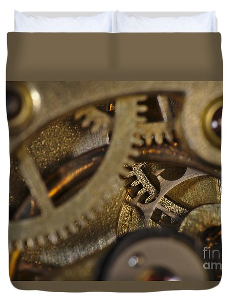 Tic Tac Wheels Duvet Cover
