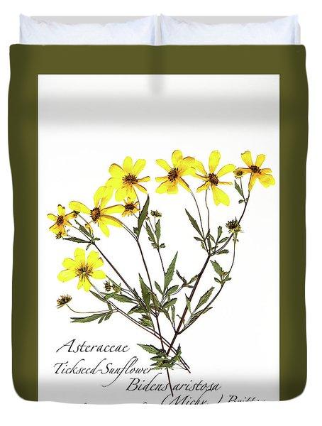 Tickseed Sunflower Duvet Cover