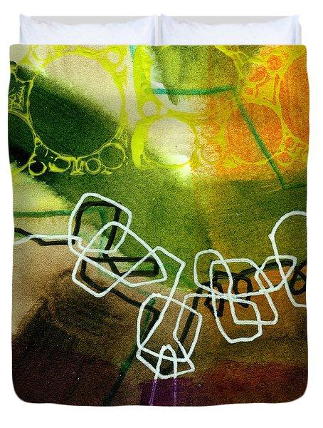 Tidal 18 Duvet Cover by Jane Davies