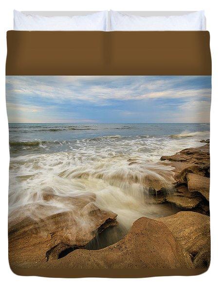 Tidal Flow Duvet Cover