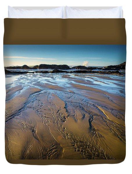 Tidal Patterns Duvet Cover