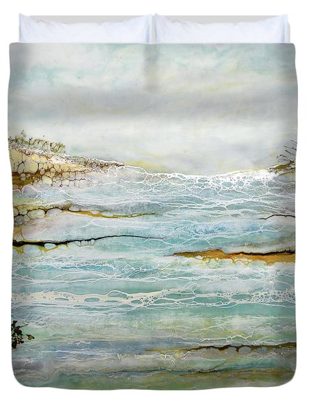 Tidal Pool 1 Duvet Cover