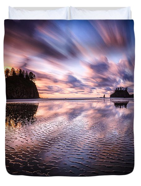 Tidal Reflection Serenity Duvet Cover