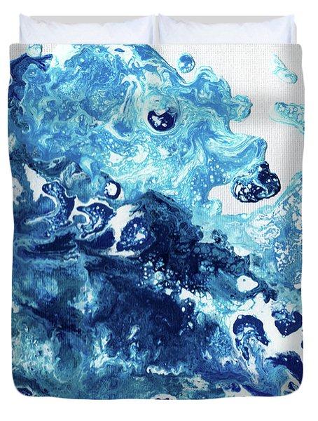 Tidal Wave Duvet Cover