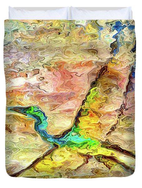Tide Reflection Duvet Cover