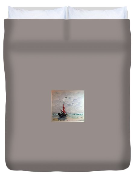Tide's Out Ver 3 Duvet Cover
