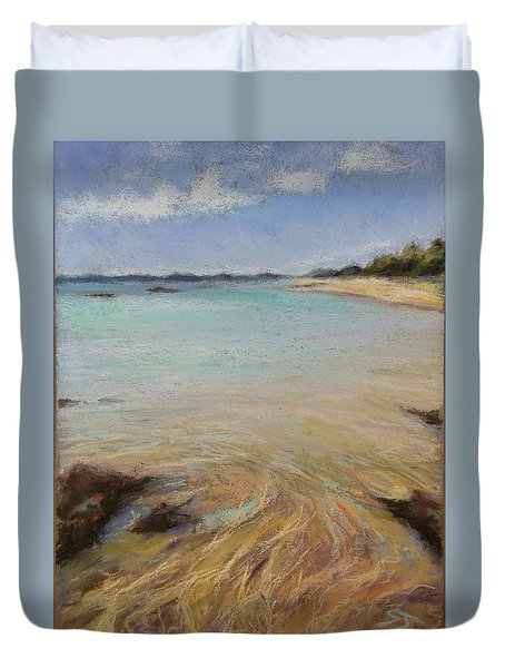Tide's Retreat Duvet Cover
