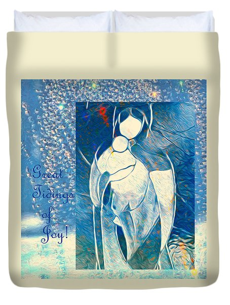 Tidings Duvet Cover