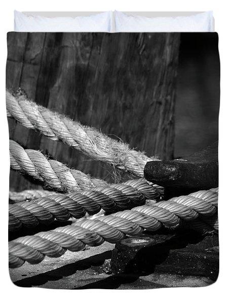 Tied Down Duvet Cover by Susanne Van Hulst