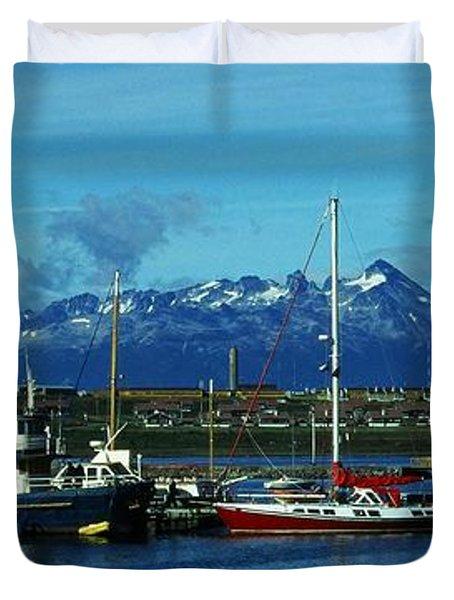 Tierra Del Fuego Duvet Cover