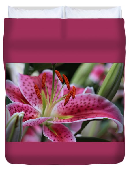 Tigar Lilly Duvet Cover